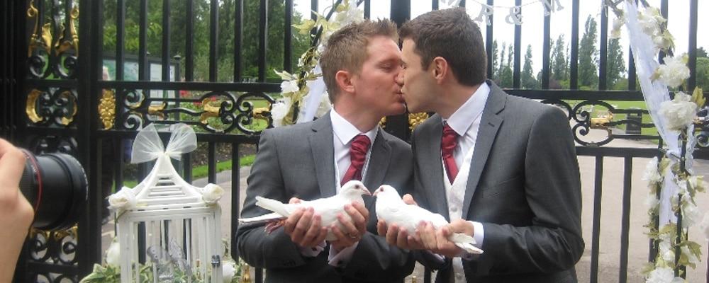 Dove Release for Civil Partnerships
