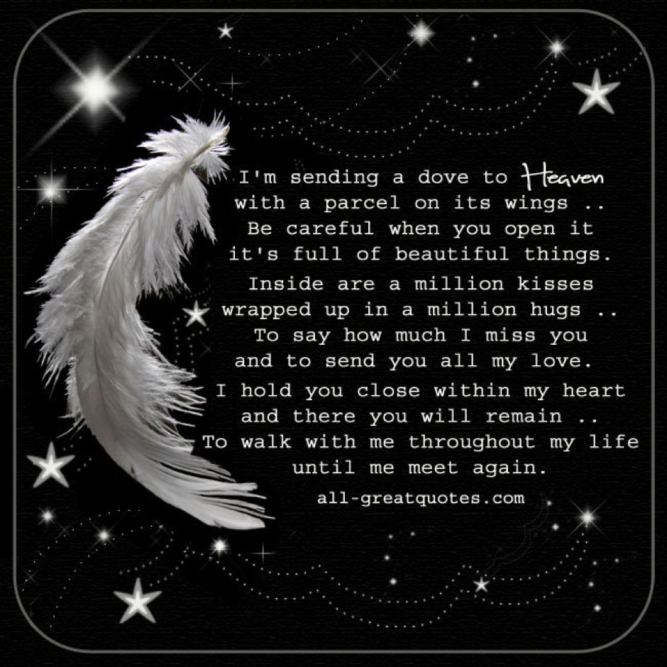 Funeral Poems | The White Feather Co